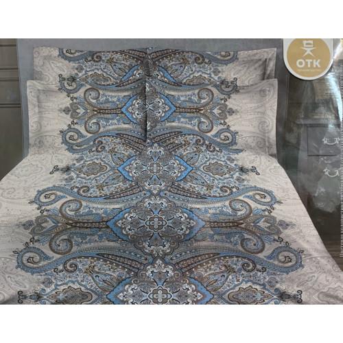 """Комплект постельного белья бязь """"Голубой орнамент"""""""