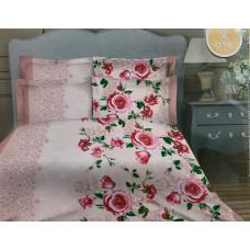 """Комплект постельного белья бязь """"Розы на розовом"""""""