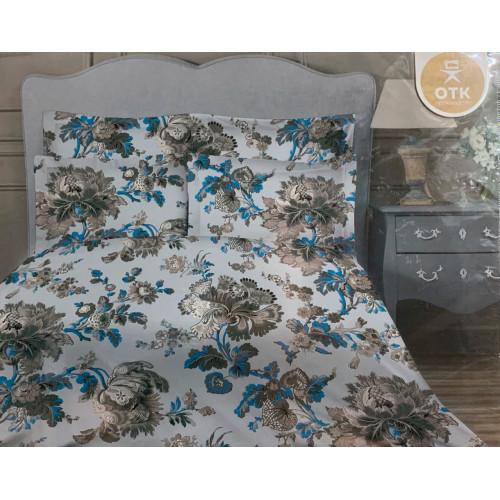 """Комплект постельного белья бязь """"Серые цветы"""""""
