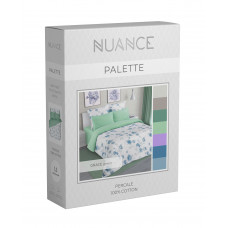 Комплект постельного белья «Grace green», хлопок, перкаль, ИвШвейСтандарт