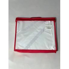 Простынь махровая водонепроницаемая (непромокаемая) (4 резинки по углам)