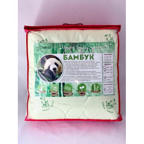 Одеяло «Бамбук» облегченное, хлопок, ЕВРО