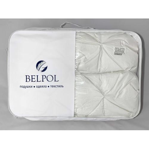 Одеяло пуховое «Orion» 2.0 спальное BelPol с дизайнерскими буфами