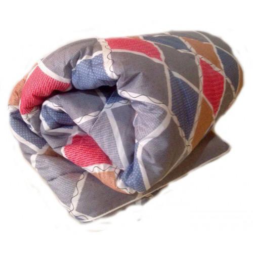 Одеяло «Экофайбер» всесезонное, 1.5 спальное, поликоттон