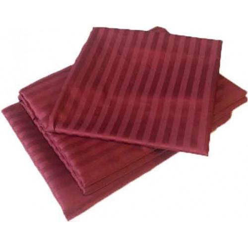 Комплект постельного белья «Страйп-сатин» цветной