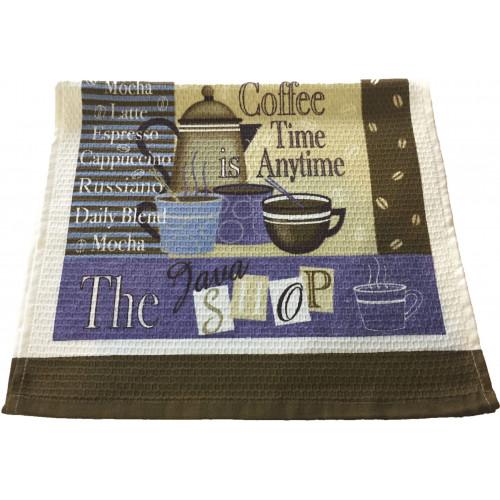 Махрово-вафельное «Кухонное» полотенце 40*70