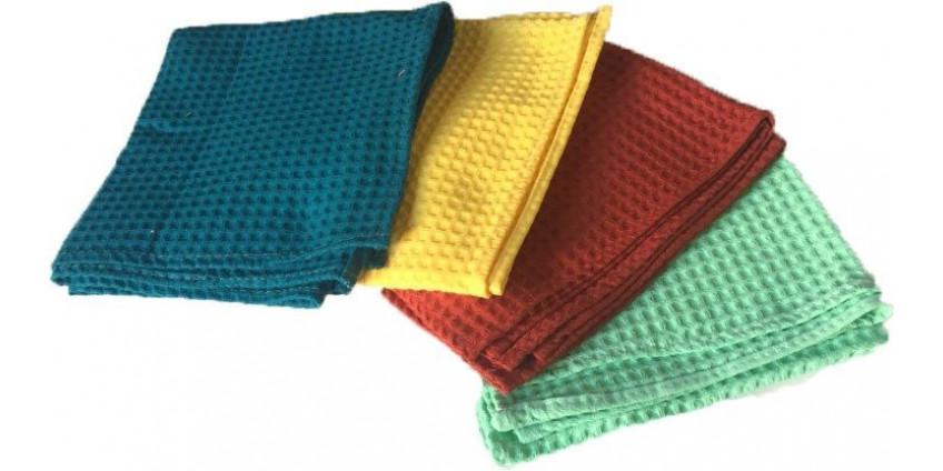 Удобные вафельные полотенца: сколько нужно иметь, как ухаживать