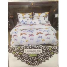 Комплект постельного белья «Перкаль» Бабочки